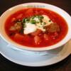 ミーフバー - 料理写真:ロシアのスープ料理「ボルシチ」※全く辛くないです。