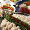 もつ鍋らく - 料理写真:もつ鍋とコース料理