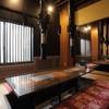 焼肉 白李 - 内観写真:掘りごたつ式完全個室