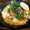 汐留バル 7 - 料理写真:魚介のパエリア