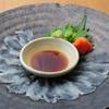ときすし - 料理写真:カワハギ薄造り1200円