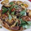 紅爐餐廳 - 料理写真:アサリ炒め 台湾醤油でさっと炒めた魅惑の味