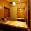 鮪のシマハラ - 内観写真:6名様までの半個室ご用意しております。