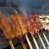一鳥 - 料理写真:炭で焼く!