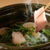 銀座 結絆 - 料理写真:天然寒ブリのしゃぶしゃぶ