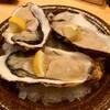 魚輝 - 料理写真:本日のカキ 日により産地は異なりますが、美味しい一品を取り揃えてお待ちしています!