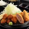 厚切り牛かつ専門店 神戸 牛かつ亭 - 料理写真:一口牛かつ&メンチカツとコロッケ膳