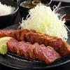 厚切り牛かつ専門店 神戸 牛かつ亭 - 料理写真:牛かつ亭の厚切り牛かつ膳(中)