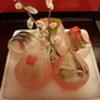 六右衛門 - 内観写真:桜をイメージしたお刺身
