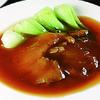 精華苑 - 料理写真:フカヒレの姿煮(1枚)