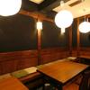 たたき亭 - 内観写真:和風で落ち着いたテーブル席