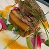 芝の鳥一代 - 料理写真:牛ロースのステーキ 春菜仕立て