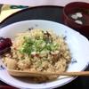 つちの子 - 料理写真:当店オリジナル「ガーリックたこめし」!!! ニンニクの風味とコクのあるソースの味わいでリピーター多数!!!