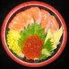 タフ - 料理写真:サーモンといくら丼