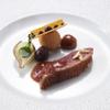 銀座 レカン - 料理写真:マグレ鴨のロティとフォワグラのクロメスキ  チェリーヴィネガーマリネ グリオット風味のジュ