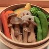 ちゃこ - 料理写真:ホクホクの蒸し野菜 特製味噌とフランス産天日塩で!