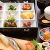 四六八ちゃ個室別館 - 料理写真:メインの寿司以外に小鉢などが付くコスパのいいランチ