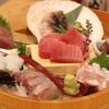 ○魚 - 料理写真:名物!お刺身盛り合わせ