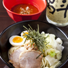 御○屋 - 料理写真:御○屋特製つけ麺(780円)焼豚二枚・味玉1個・キャベツ・めんたいもやし・きざみのり