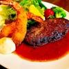 ソルビバ - 料理写真:【ディナー限定】自家製ハンバーグ&海老フライ