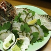 海八 - 料理写真:お客様が釣った魚をサービスでお刺身に!