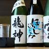 しら河 - ドリンク写真:日本酒 注いだ感2