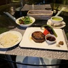 PLUS CASA LOUNGE  - 料理写真:ランチセット(近江牛合挽きハンバーグ)