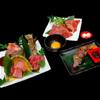 織姫 - 料理写真:大和牛の盛り合わせ(七夕 一人前)