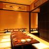 日本橋イカセンター - 内観写真:落ち着いた雰囲気の半個室ございます!