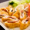 昔屋 - 料理写真:名古屋コーチンささみ梅肉はさみ揚げ¥700