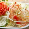 タイガーデン - 料理写真:4.ソムタム(青パパイヤのサラダ)