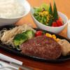 ステーキハウス牛和鹿 - 料理写真:限定近江牛100%ハンバーグランチ