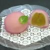 松竹堂 - 料理写真:ブドウ:大ぶりの種無しピオーネを皮をむいて包みました