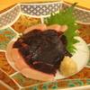 海つばめ - 料理写真:【イルカ】紀南ならではイルカのお造り。旅の思い出話にオススメ(850円)