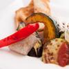 月光仮面 - 料理写真:旬の鉄板焼温野菜