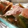 H - 料理写真:生ハムとアボガドのサラダ仕立て