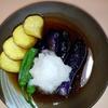 ととまる - 料理写真:夏野菜の揚げ出し580円