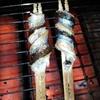 ととまる - 料理写真:秋刀魚の棒焼今年は高くてまだ始めていません。