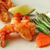 ステーキハウス ハマ - 料理写真:活才巻海老の鉄板焼き
