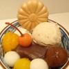 菊丸 - 料理写真:和栗あんみつ ¥850