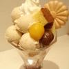 菊丸 - 料理写真:和栗パフェ ¥1100