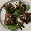 麺バル RIKI - 料理写真:牛タンネギ挟み焼き