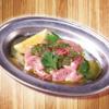とり焼肉酒場 鶏ん家 - 料理写真:【オリジナル・とり焼肉】バジルレモンハラミ