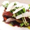リストランテ・ホンダ - 料理写真:和牛ランプ肉のタリアータ ルッコラのサラダ添え