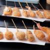 あがさ - 料理写真:オリジナル串揚げ単品(二串)