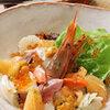 笹鮨 - 料理写真:魚介類のマリネサラダ 山葵風味