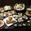 赤おに家 - 料理写真:美味しさ満載のリッチなコース