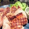 ビール100円『たんと』 - 料理写真:自分で育てた塩麹。じっくり漬け込んでうまみを熟成しました。自家製塩麹チキン醤油麹マスタード添え
