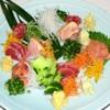 とり安 - 料理写真:鶏さし三種盛り(白レバー、ズリ、皮付きモモのタタキ)