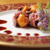 季節料理 汐彩 - 料理写真:特選神戸牛フィレステーキうに包み